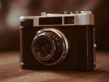 Filme as câmeras que tinham sido populares no passado fotografia de stock royalty free
