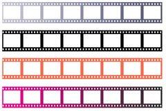 Filme da película ilustração stock