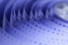 filme de filme de 35mm Foto de Stock