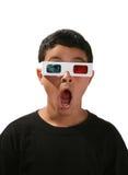 Filme de observação do menino Imagens de Stock Royalty Free