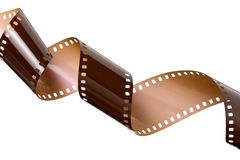 Filme desembaraçado foto de stock