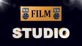 Filme do cinema, a melhor 3D ilustração, a melhor animação vídeos de arquivo