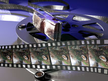 Filme do drama Foto de Stock Royalty Free