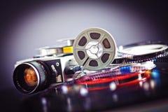 filme do filme de 8mm Fotografia de Stock
