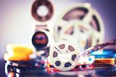 filme do filme de 8mm Imagem de Stock Royalty Free