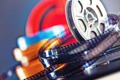 filme do filme de 8mm Imagens de Stock
