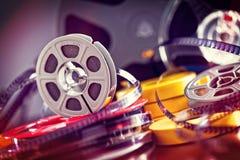 filme do filme de 8mm Fotografia de Stock Royalty Free