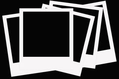 Filme do Polaroid Fotografia de Stock