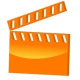 filme do símbolo 3D Imagens de Stock