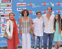 Filme Edhel do molde no festival de cinema 2016 de Giffoni Fotos de Stock
