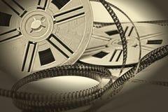 Filme envelhecido da película do vintage 8mm Foto de Stock Royalty Free