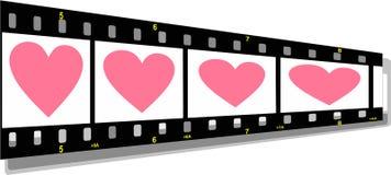 Filme la perspectiva de la tira con él stock de ilustración
