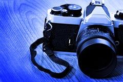 Filme 35mm da fotografia de Cameral do vintage Imagem de Stock