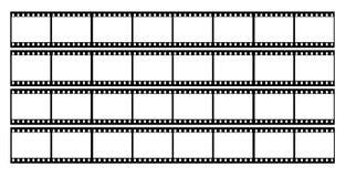 filme o frame dos frames da tira Imagem de Stock Royalty Free