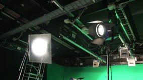 Filme o grupo da iluminação video estoque