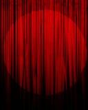 Filme ou cortina do teatro Foto de Stock