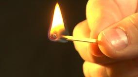 Filme queimado de 8mm filme