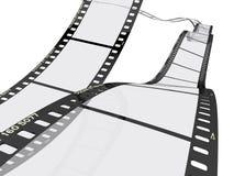 Filme a tira ilustração do vetor