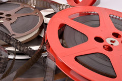 Filme und Spulen Stockbilder