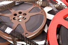 Filme und Spulen Lizenzfreies Stockfoto