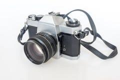 Filme velho da câmera de SLR Imagem de Stock