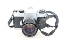 Filme velho da câmera de SLR Imagem de Stock Royalty Free