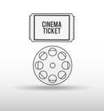 Filmed entertainment design. Illustration eps10 graphic Stock Photos