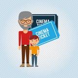 Filmed entertainment design Stock Photos