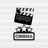 Filmed entertainment design. Illustration eps10 graphic Royalty Free Stock Photography