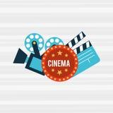 Filmed entertainment design Stock Photography
