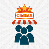 Filmed entertainment design Royalty Free Stock Photography