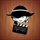 Filmed entertainment design Stock Images