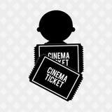 Filmed entertainment design Royalty Free Stock Photo