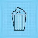 Filmed entertainment icon design Stock Photo