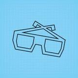 Filmed entertainment icon design Stock Images