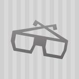 Filmed entertainment icon design Stock Image