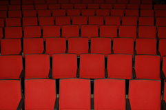 filmen placerar teatern Royaltyfria Bilder