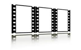 Filmen Sie (Chrom, Weiche) Felder (in der Perspektive, vertikal) Lizenzfreie Stockfotografie