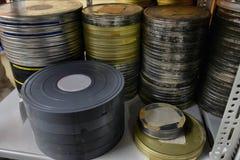 Filmer lagrades Royaltyfria Bilder