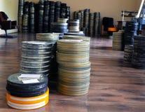 Filmer lagrades royaltyfri fotografi