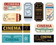 Filmerkännande stock illustrationer