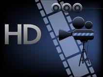 Filmes de HD Fotografia de Stock