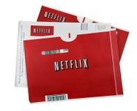 Filmes de Netflix imagens de stock royalty free
