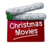 Filmes do Natal Fotografia de Stock Royalty Free