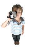Filmes e retratos video, fácil e divertimento Fotos de Stock