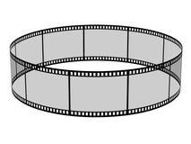 Filmes en blanco Imágenes de archivo libres de regalías