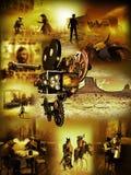Filmes ocidentais ilustração stock