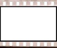 Filmfeld der negativen Abbildung Stockbild