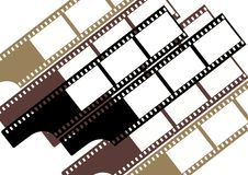Filmfelder (Gruppe) - Farbe Stockfotos