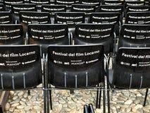 Filmfestival Locarno Stockfotografie